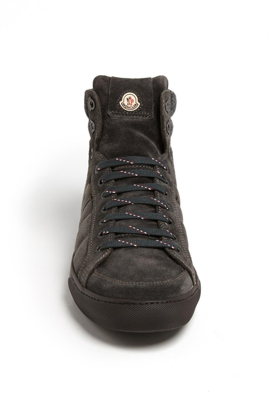 Alternate Image 3  - Moncler 'Lyon' Suede Sneaker