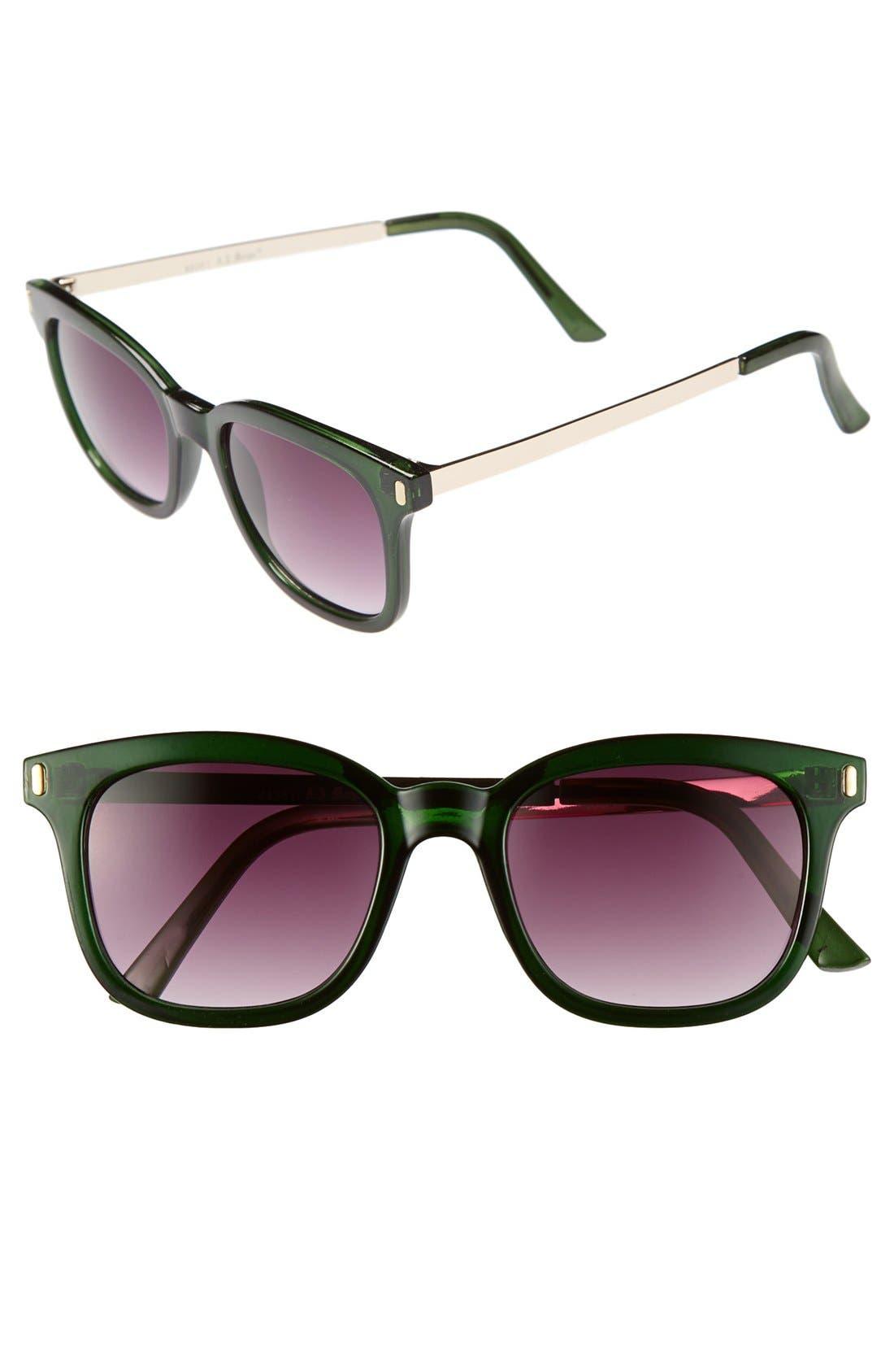 Main Image - A.J. Morgan 'Standard' Sunglasses