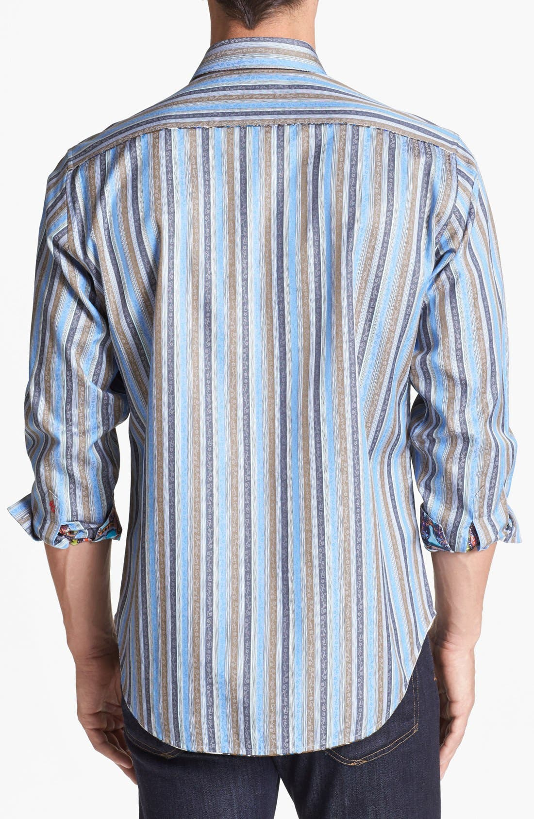 Alternate Image 3  - Robert Graham 'Davis' Regular Fit Sport Shirt
