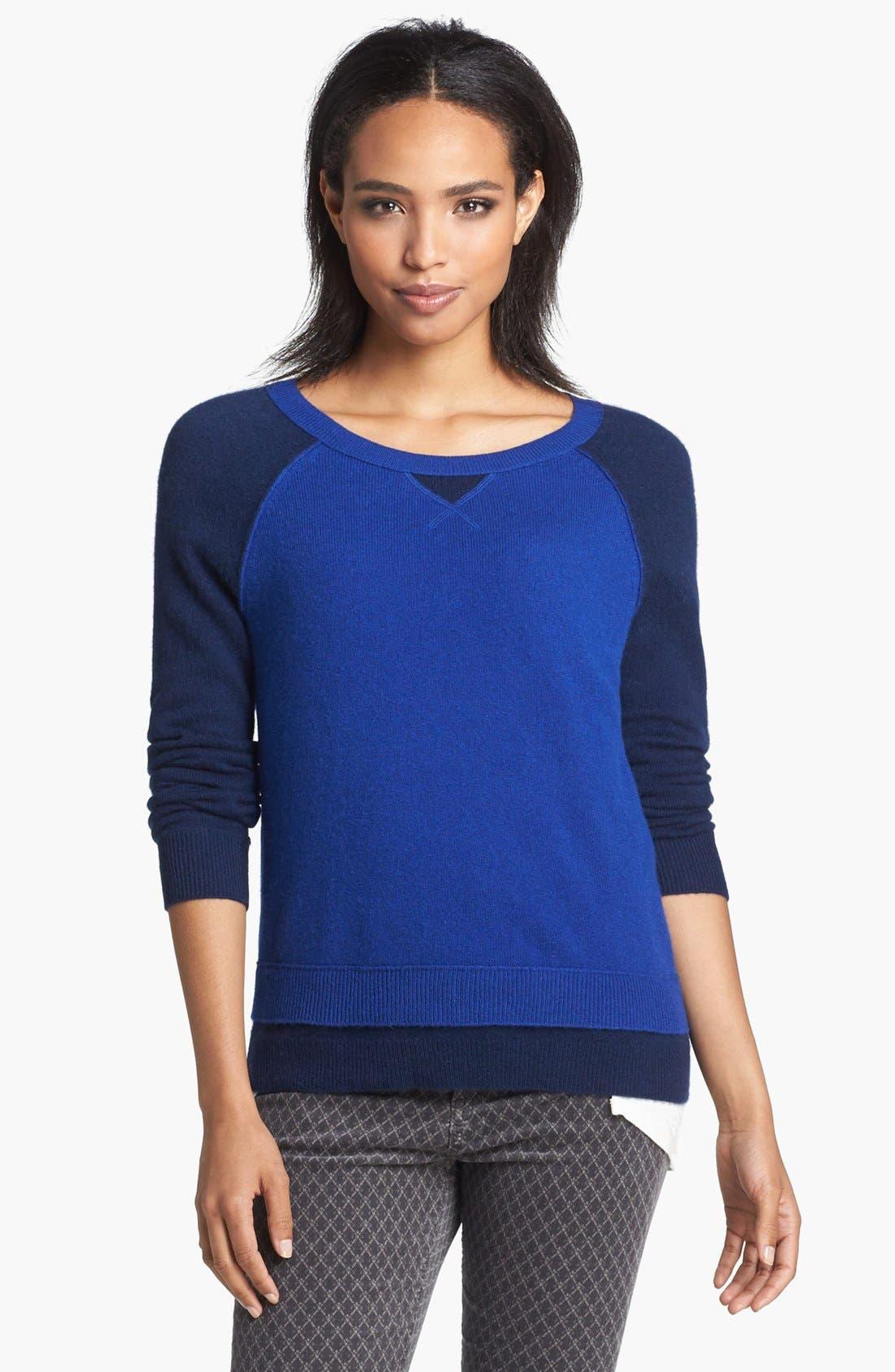 Alternate Image 3  - Halogen® Cashmere Crewneck Sweater