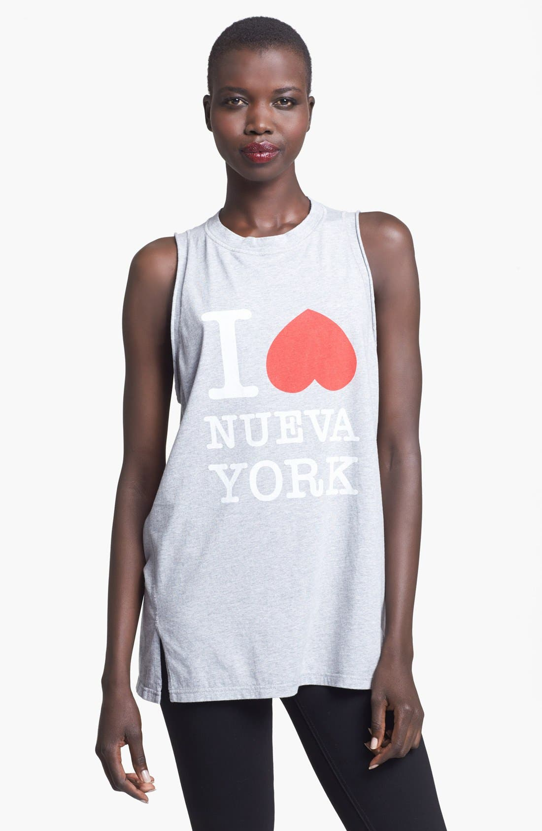 Alternate Image 1 Selected - 3.1 Phillip Lim 'I Love Nueva York' Muscle Tank