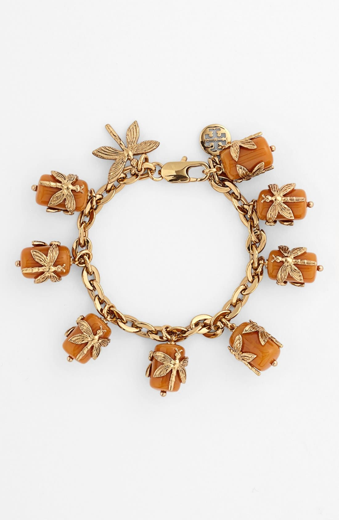 Main Image - Tory Burch Dragonfly Charm Bracelet