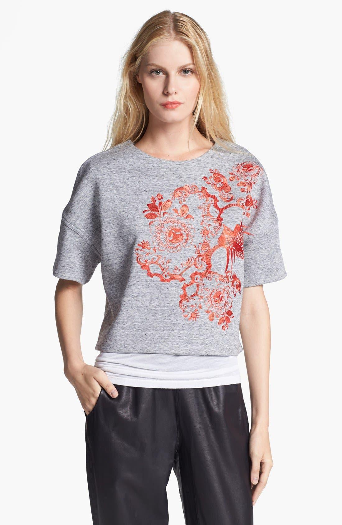 Main Image - Elizabeth and James 'Mira' Short Sleeve Sweatshirt