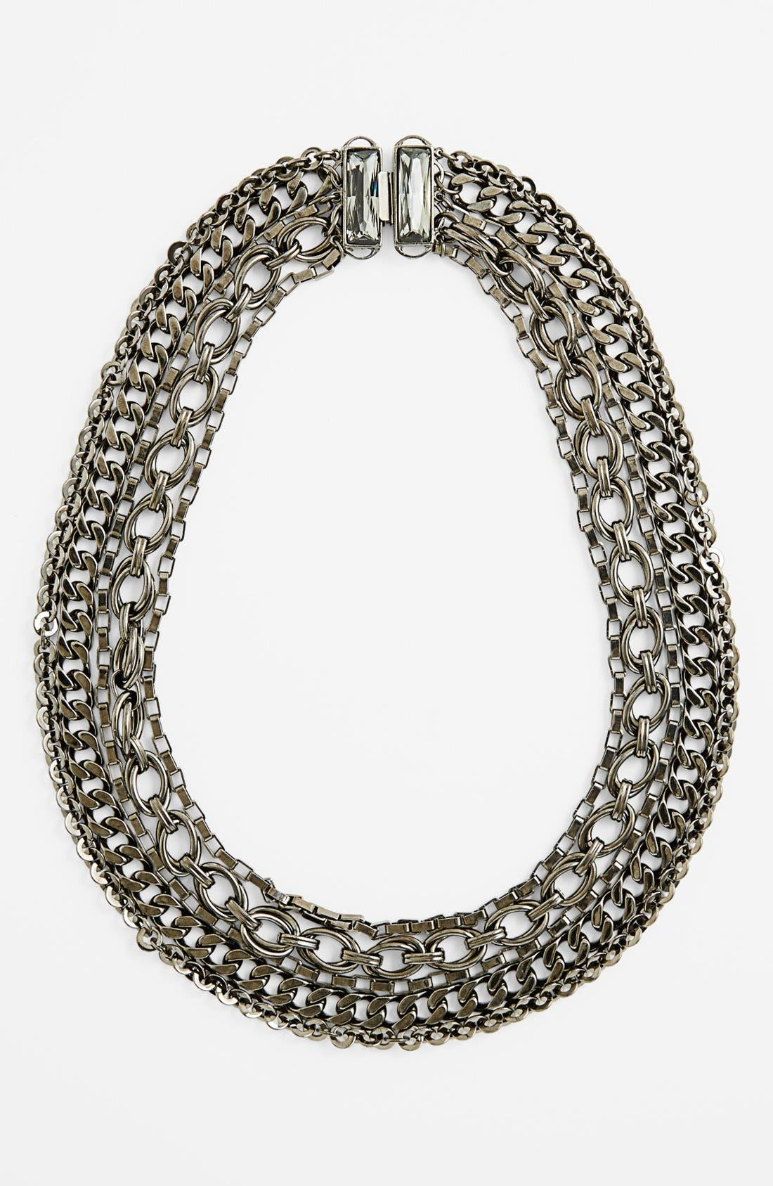 Alternate Image 2  - Nordstrom 'Lady Links' Mixed Chain Necklace