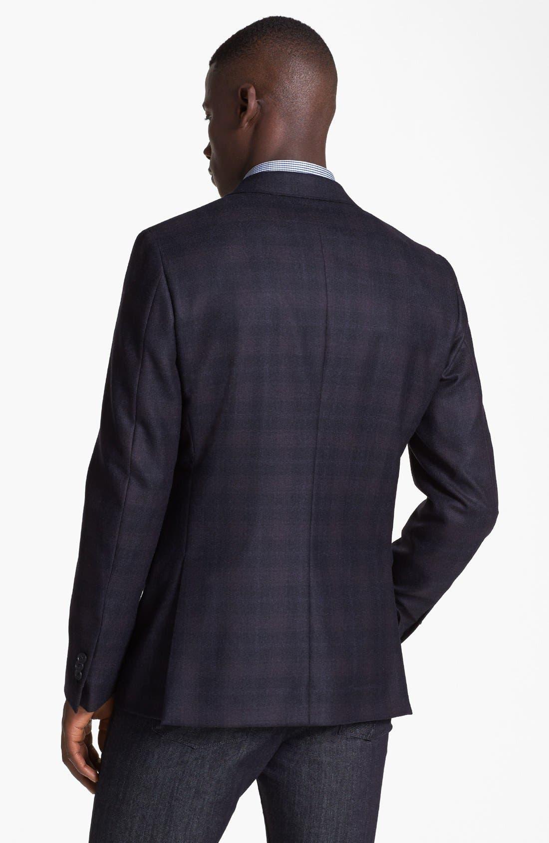 Alternate Image 3  - Z Zegna Drop 8 Fit Check Plaid Sportcoat