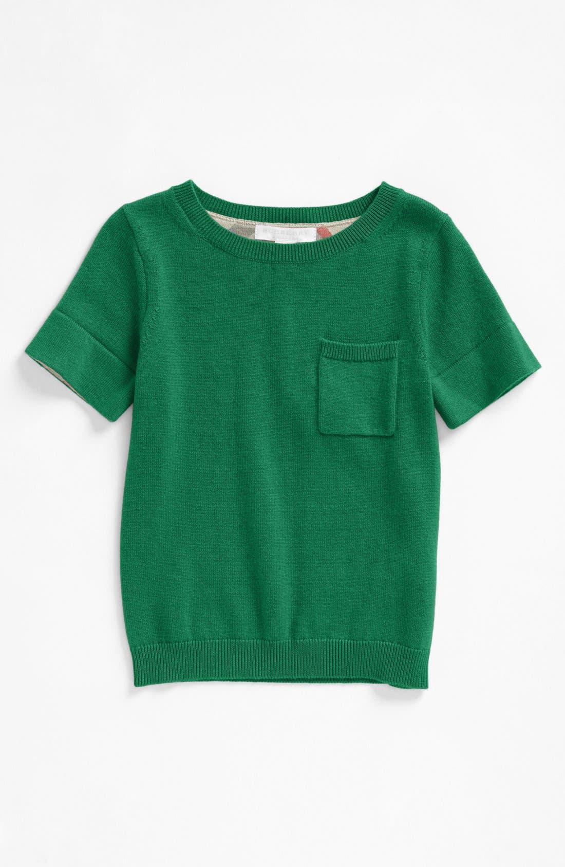 Alternate Image 1 Selected - Burberry 'Talie' Sweater (Little Girls & Big Girls)