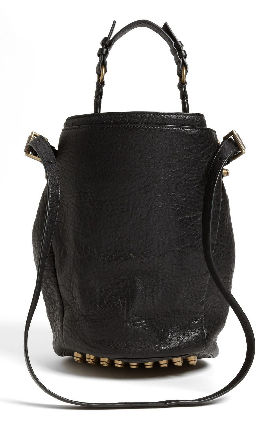 Alternate Image 4  - Alexander Wang 'Diego' Leather Bucket Bag