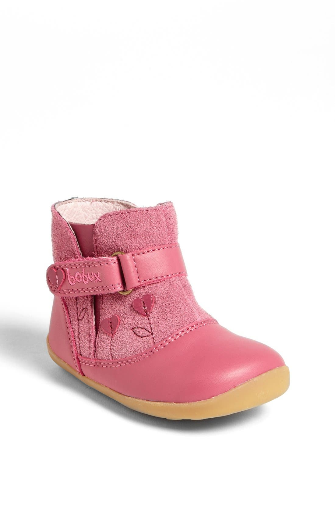 Alternate Image 1 Selected - Bobux® 'Step Up Sweetheart' Boot (Baby & Walker)