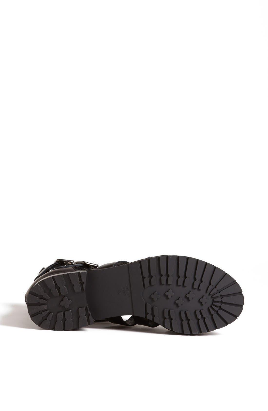 Alternate Image 4  - Topshop 'Aladin' Gladiator Strap Boot