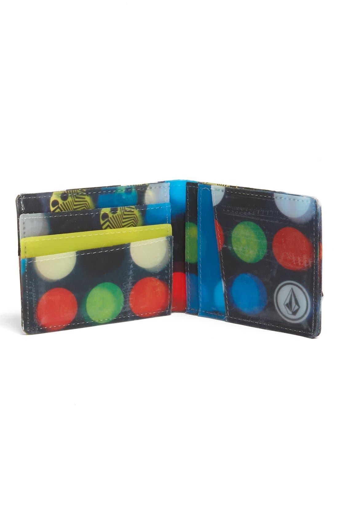 Alternate Image 3  - Volcom 'Dot Mess' Wallet (Boys)