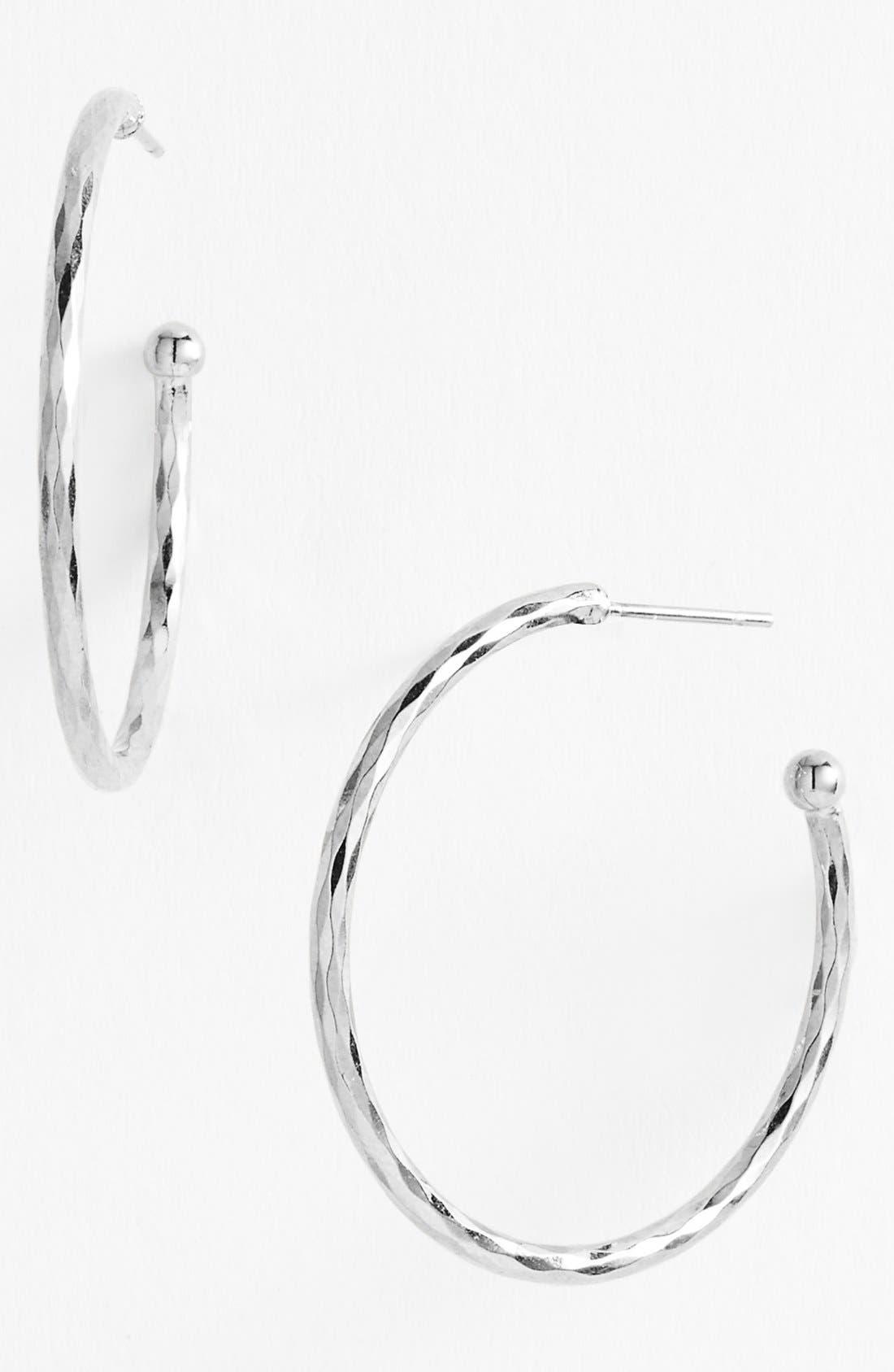 Alternate Image 1 Selected - Nordstrom Medium Hoop Earrings