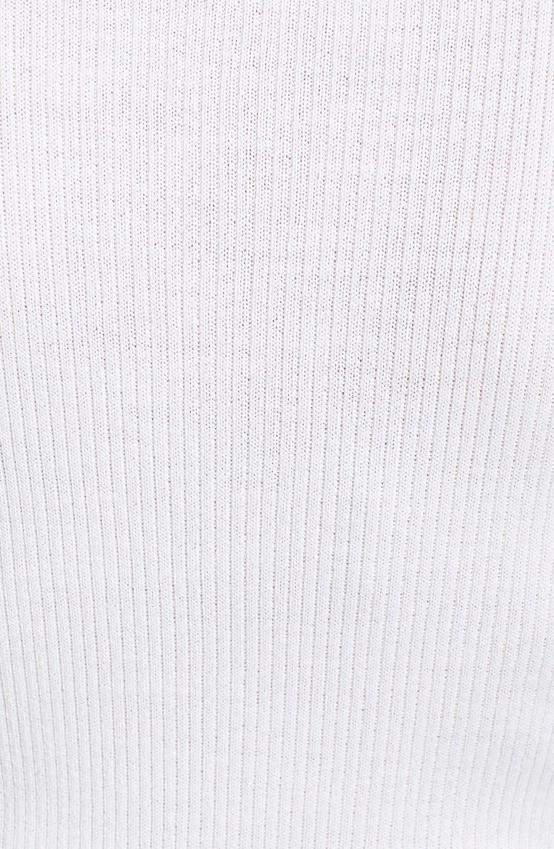 Alternate Image 5  - St. John Collection Scoop Neck Rib Knit Shell