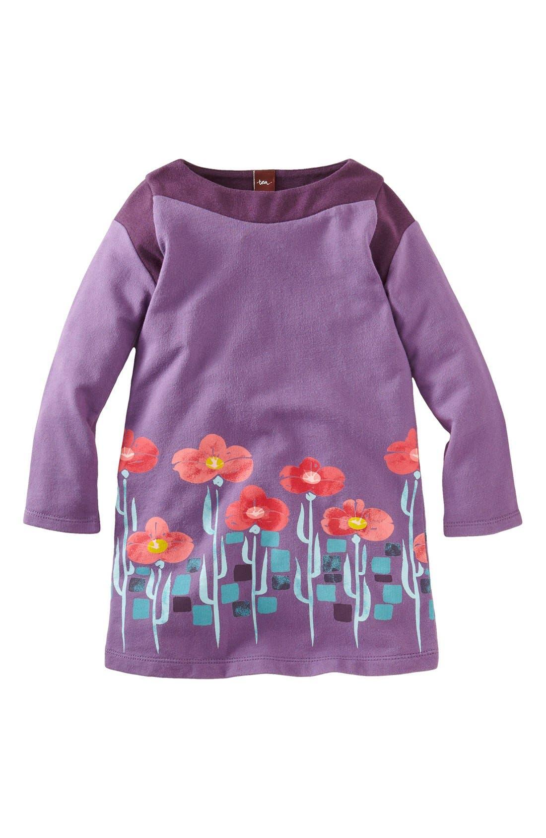 Alternate Image 1 Selected - Tea Collection 'Botanical Gardens' Dress (Little Girls & Big Girls)