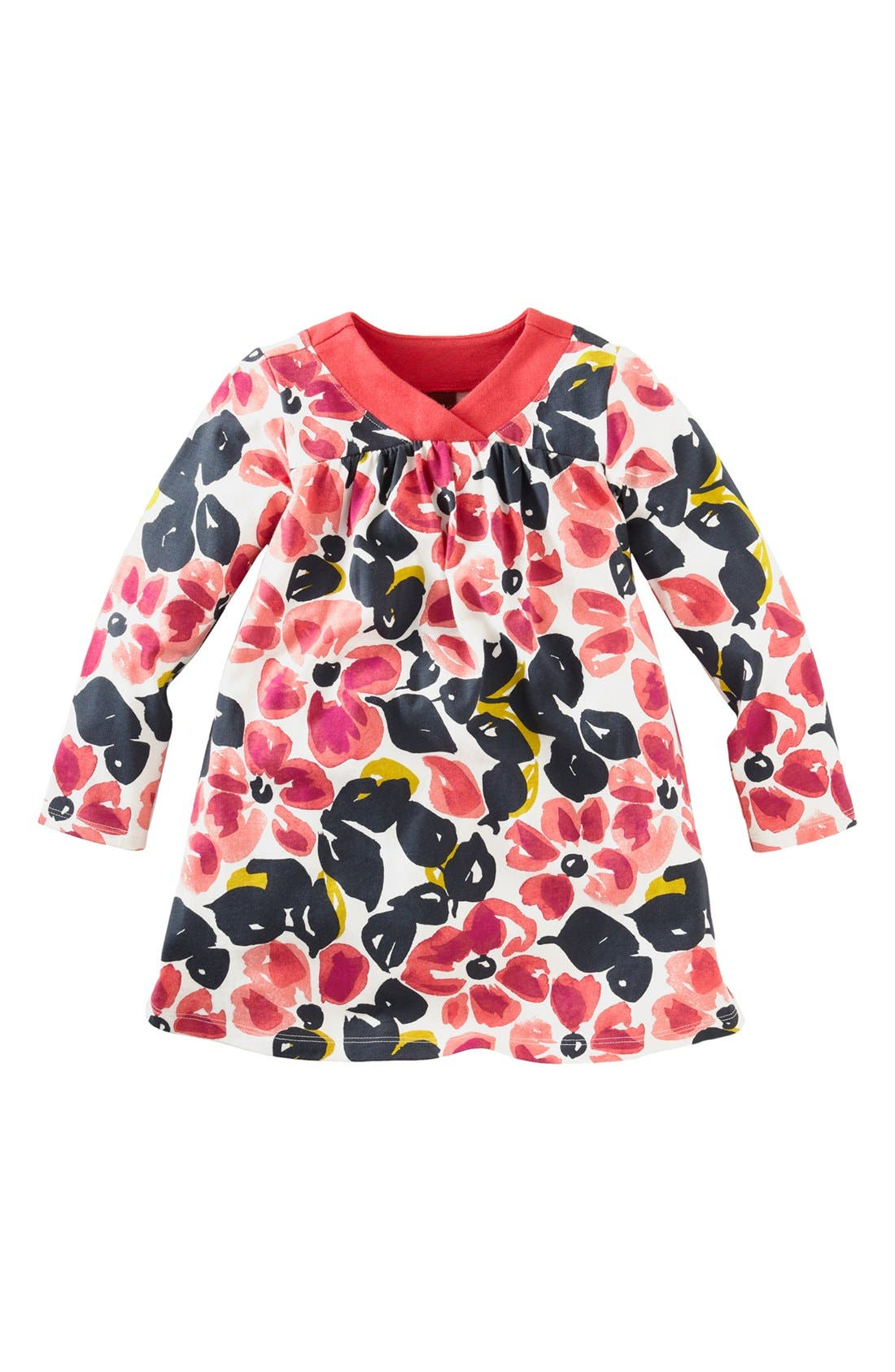 Alternate Image 1 Selected - Tea Collection 'Water Blossom' Dress (Little Girls & Big Girls)