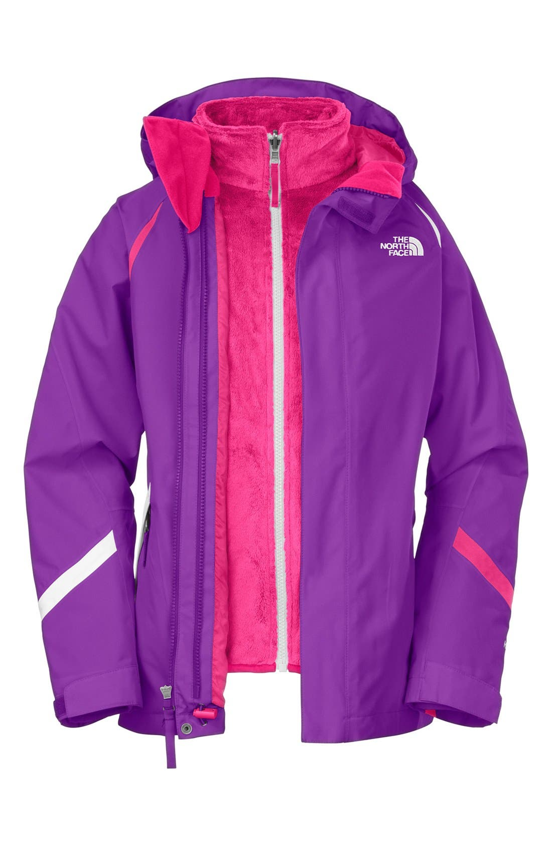Alternate Image 1 Selected - The North Face 'Kira Mossbud' TriClimate® Jacket (Little Girls & Big Girls)