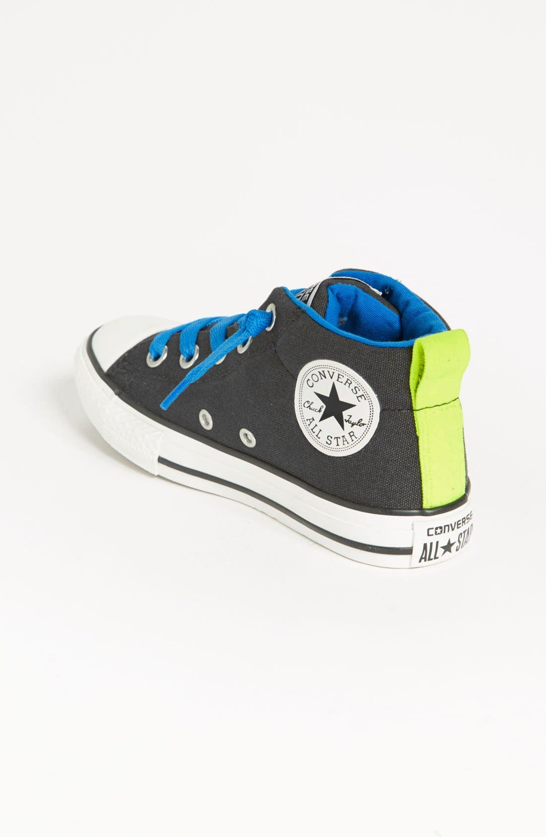 Alternate Image 2  - Converse Chuck Taylor® 'Street Mid Cab' Slip-On Sneaker (Toddler, Little Kid & Big Kid)
