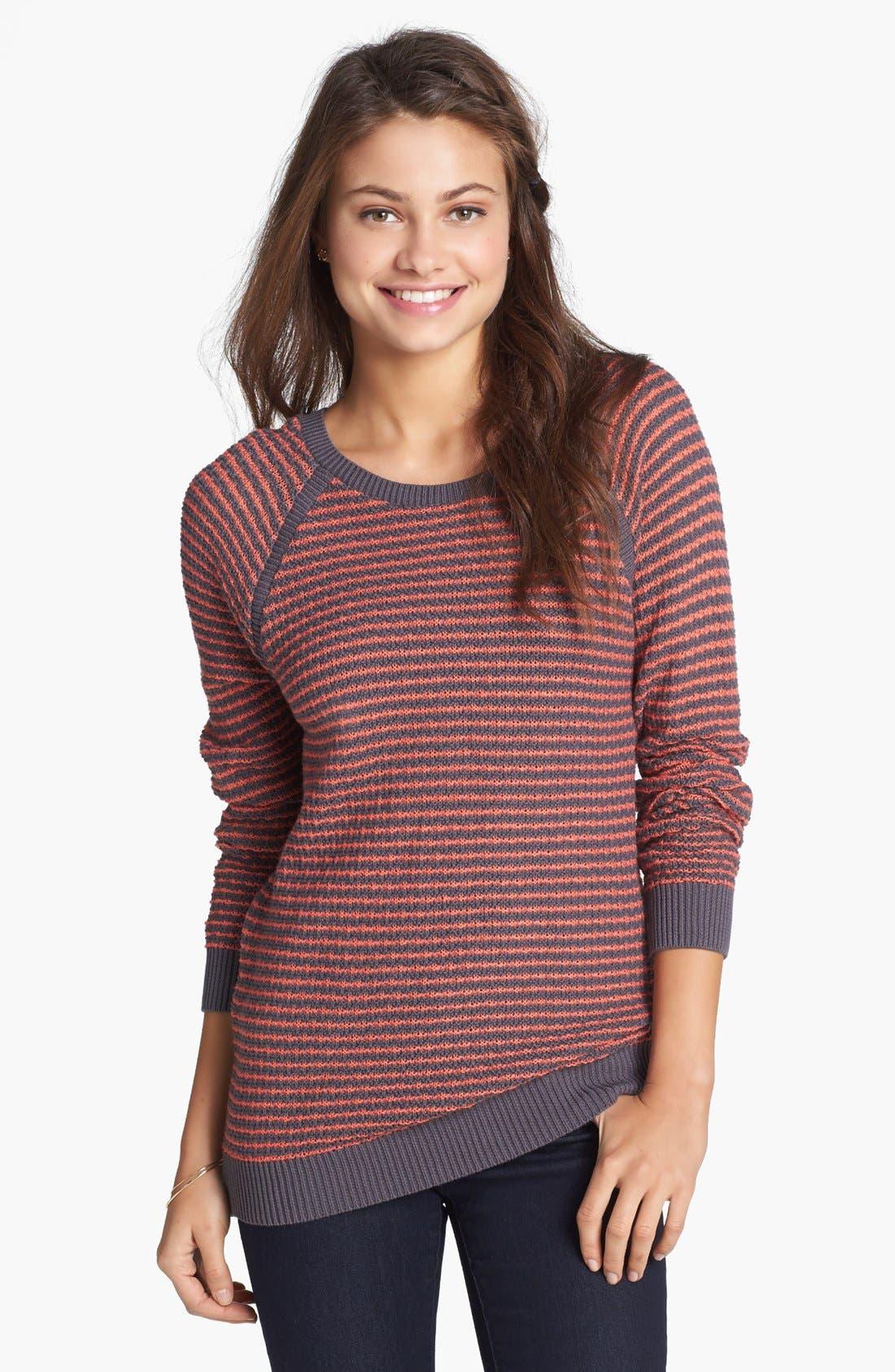 Main Image - Rubbish® Open Knit Sweater (Juniors)