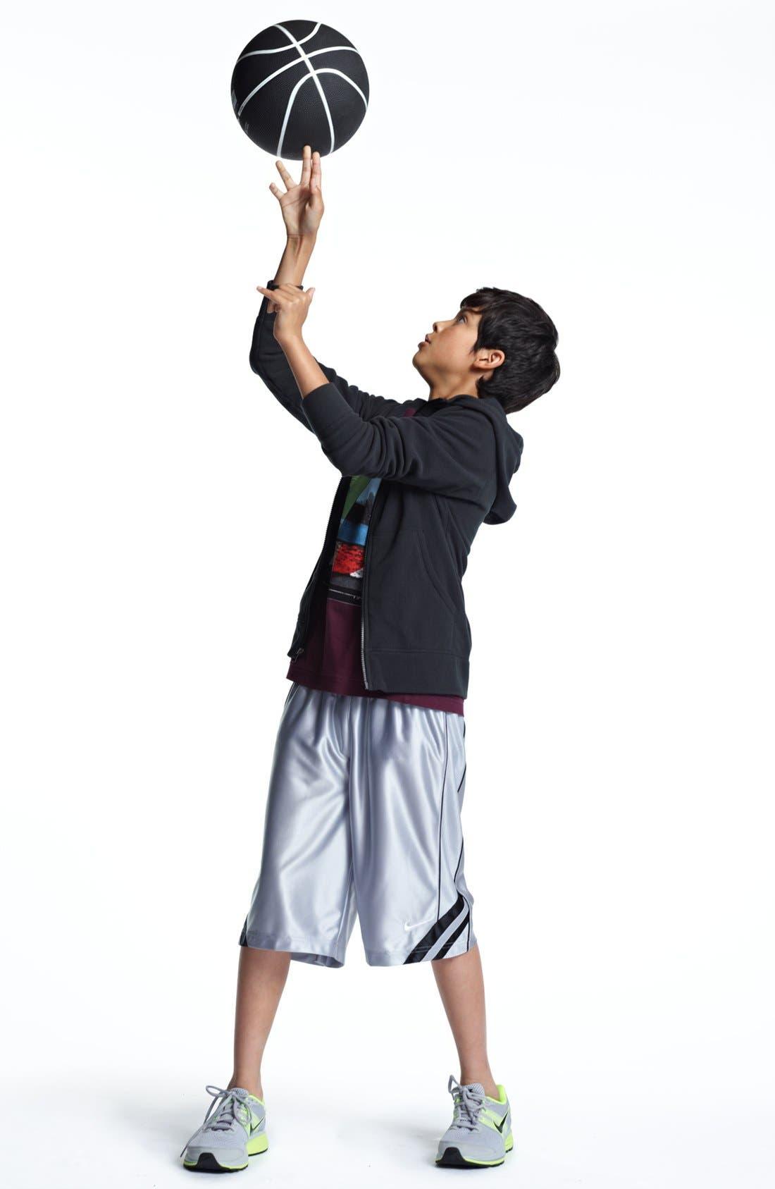 Alternate Image 1 Selected - Quiksilver T-Shirt & Nike Shorts (Big Boys)