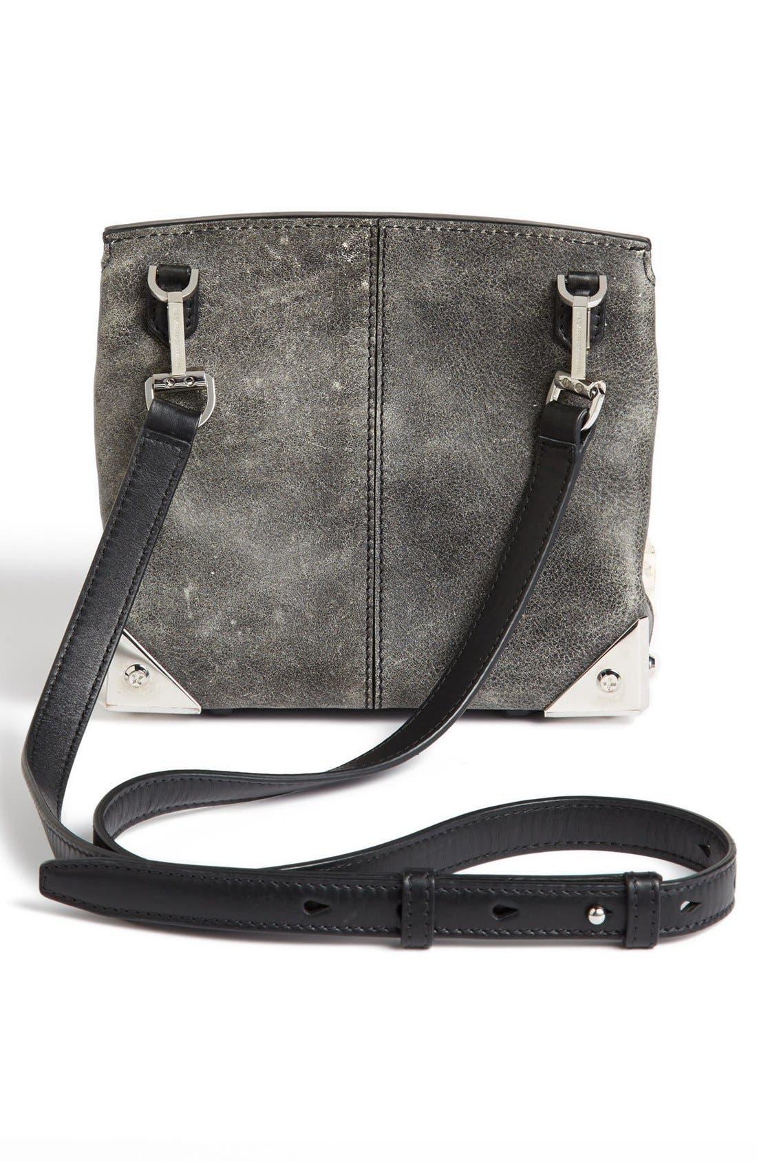 Alternate Image 4  - Alexander Wang 'Marion' Distressed Leather Crossbody Bag