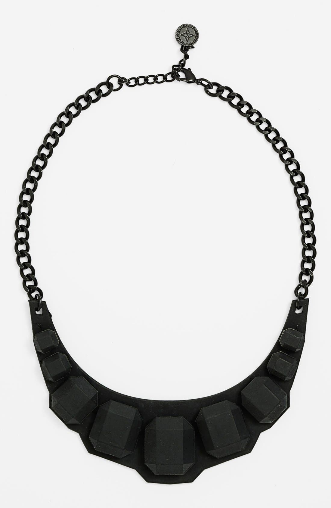 Alternate Image 1 Selected - BCBGeneration 'Rubber Rock' Short Necklace