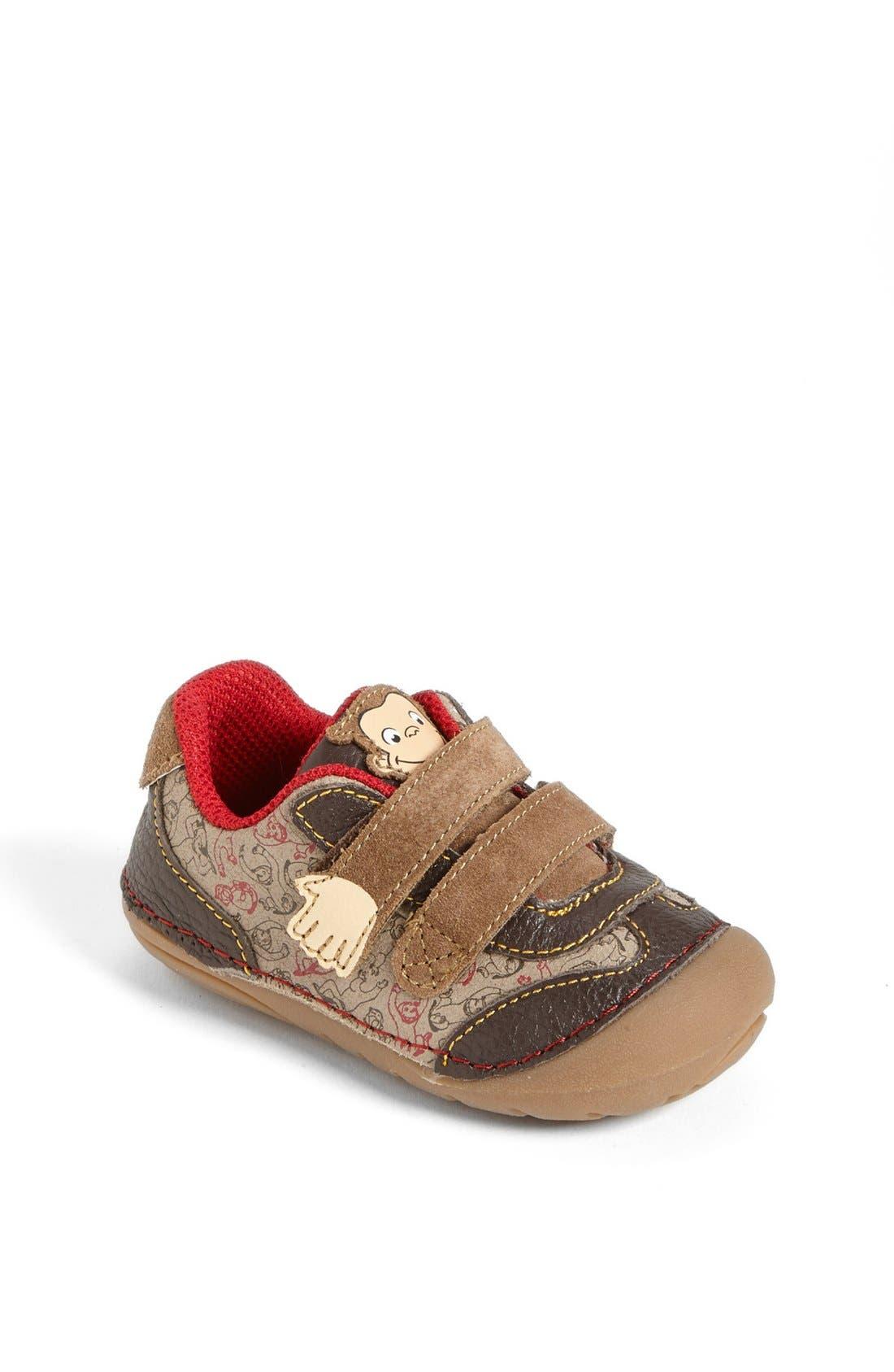 Alternate Image 1 Selected - Stride Rite 'Curious George' Sneaker (Baby & Walker)