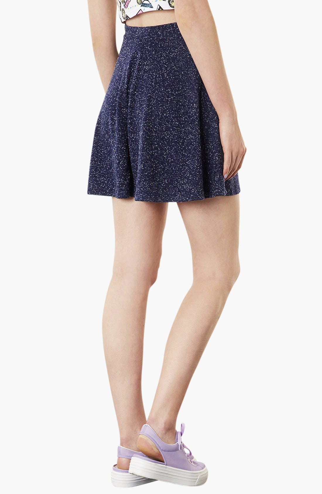 Alternate Image 2  - Topshop 'Andie' Skater Skirt
