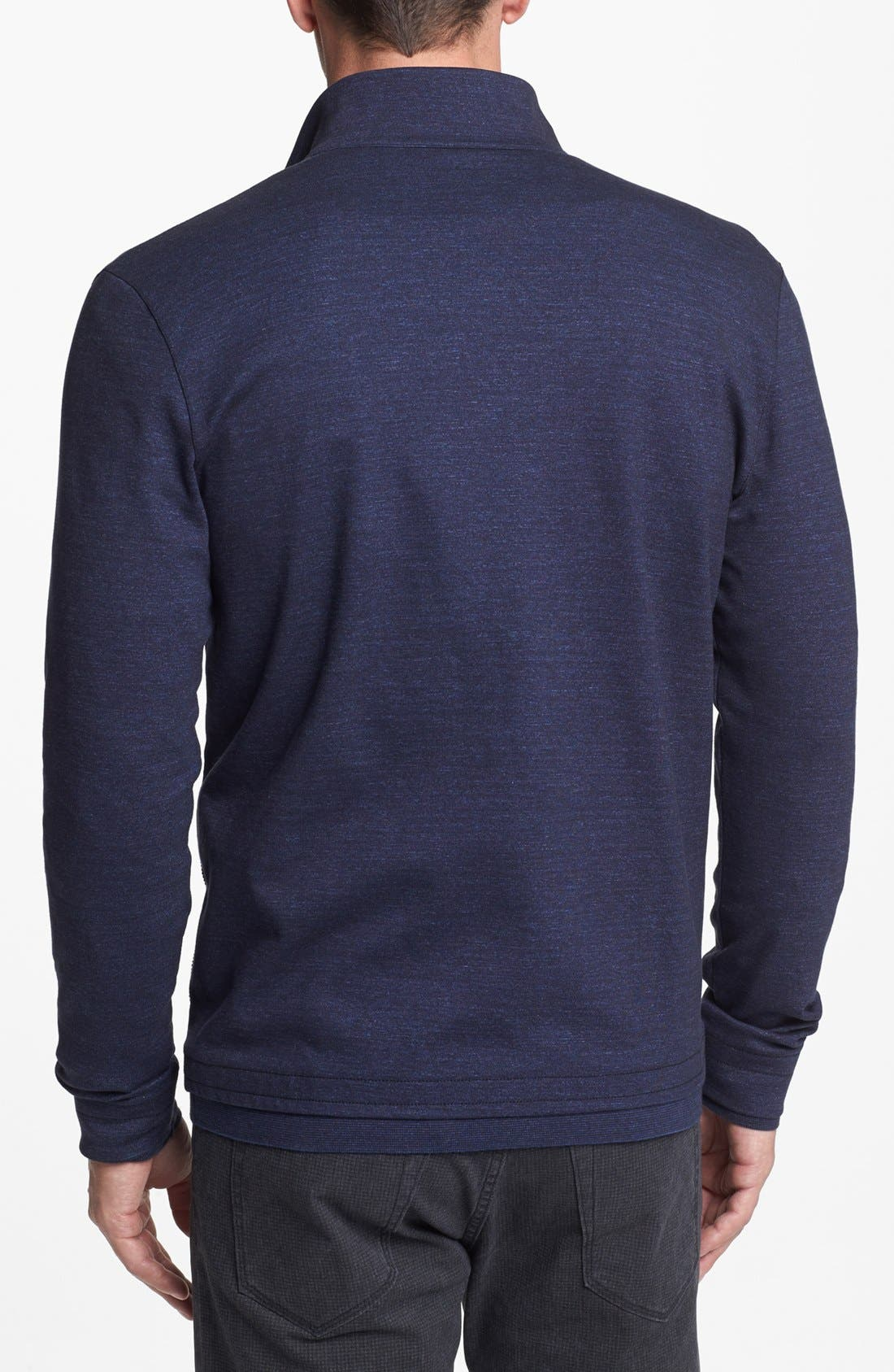 Alternate Image 2  - BOSS HUGO BOSS 'Cannobio' Zip Front Sweatshirt