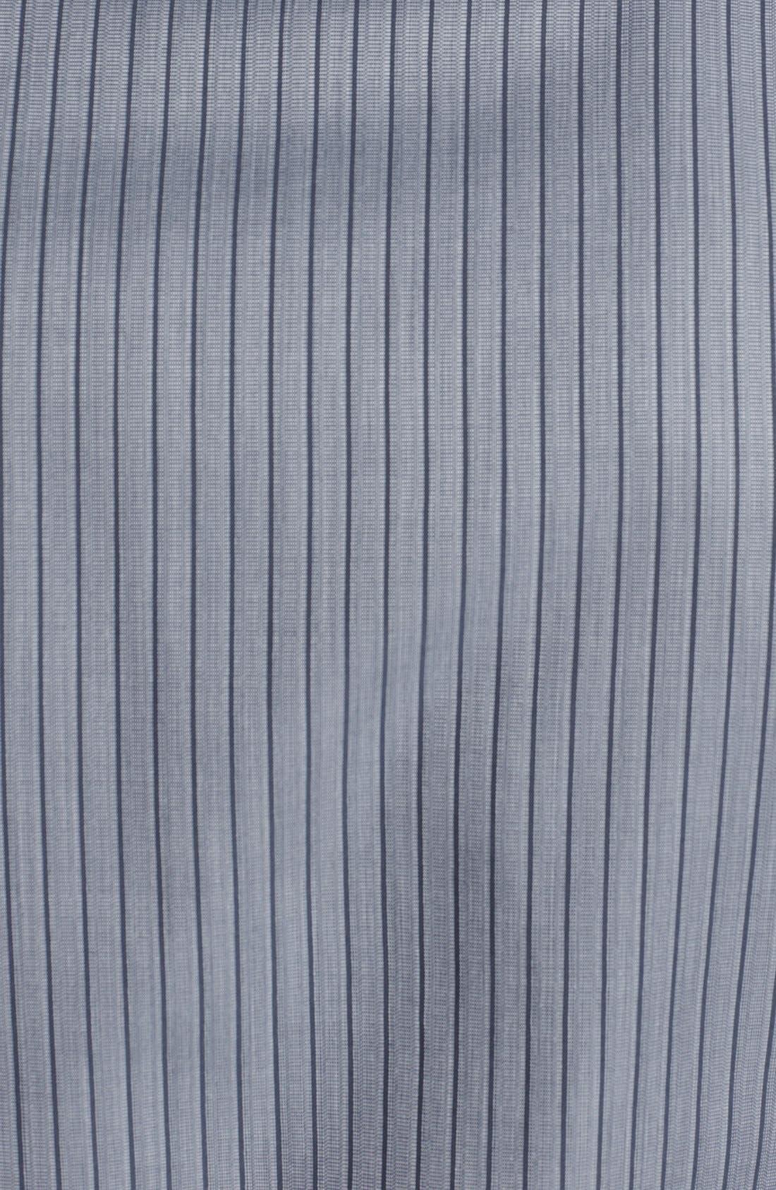 Alternate Image 3  - Armani Collezioni Modern Fit Stripe Woven Shirt
