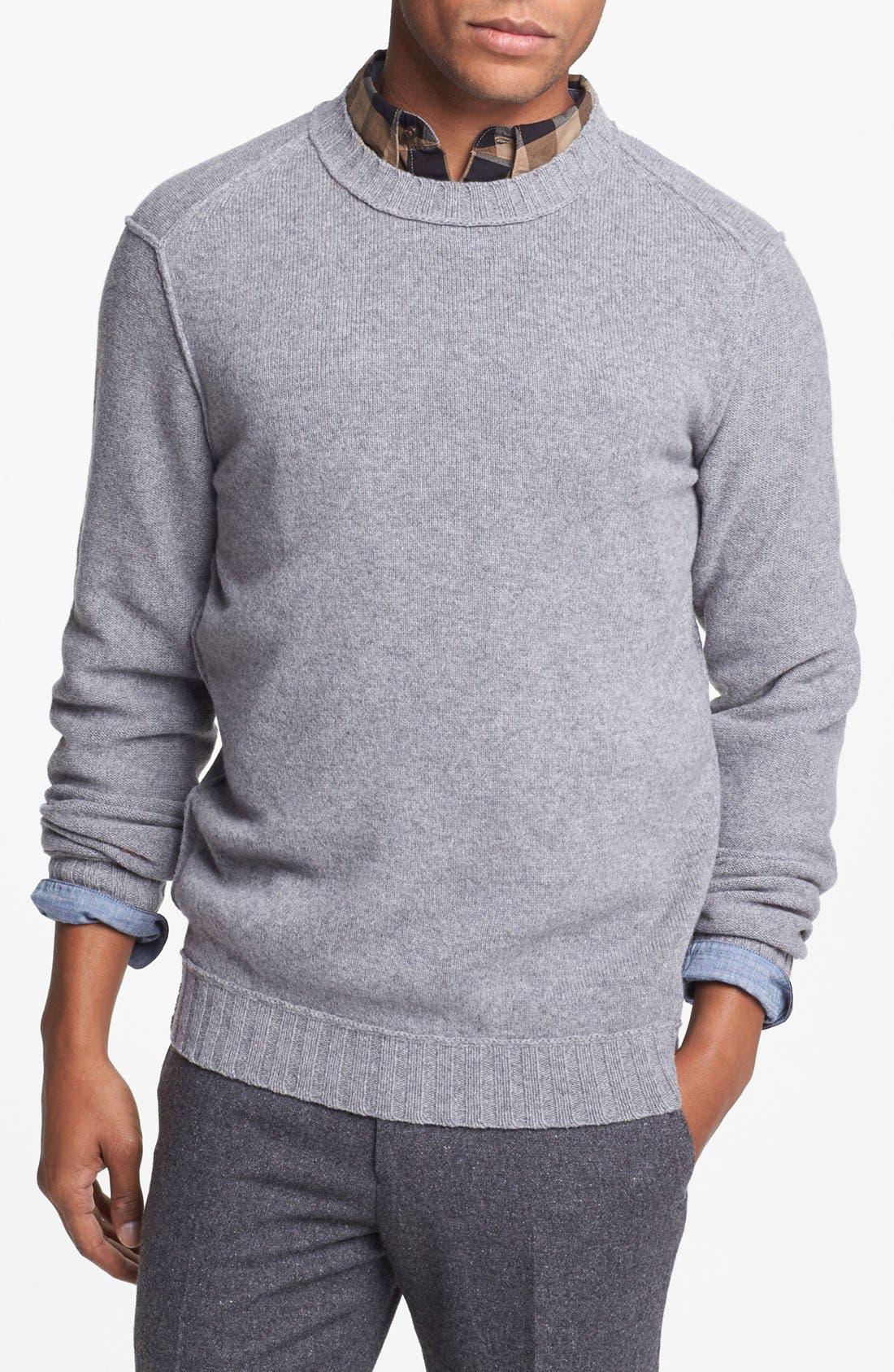 Main Image - BOSS Orange 'Adwin' Crewneck Sweater