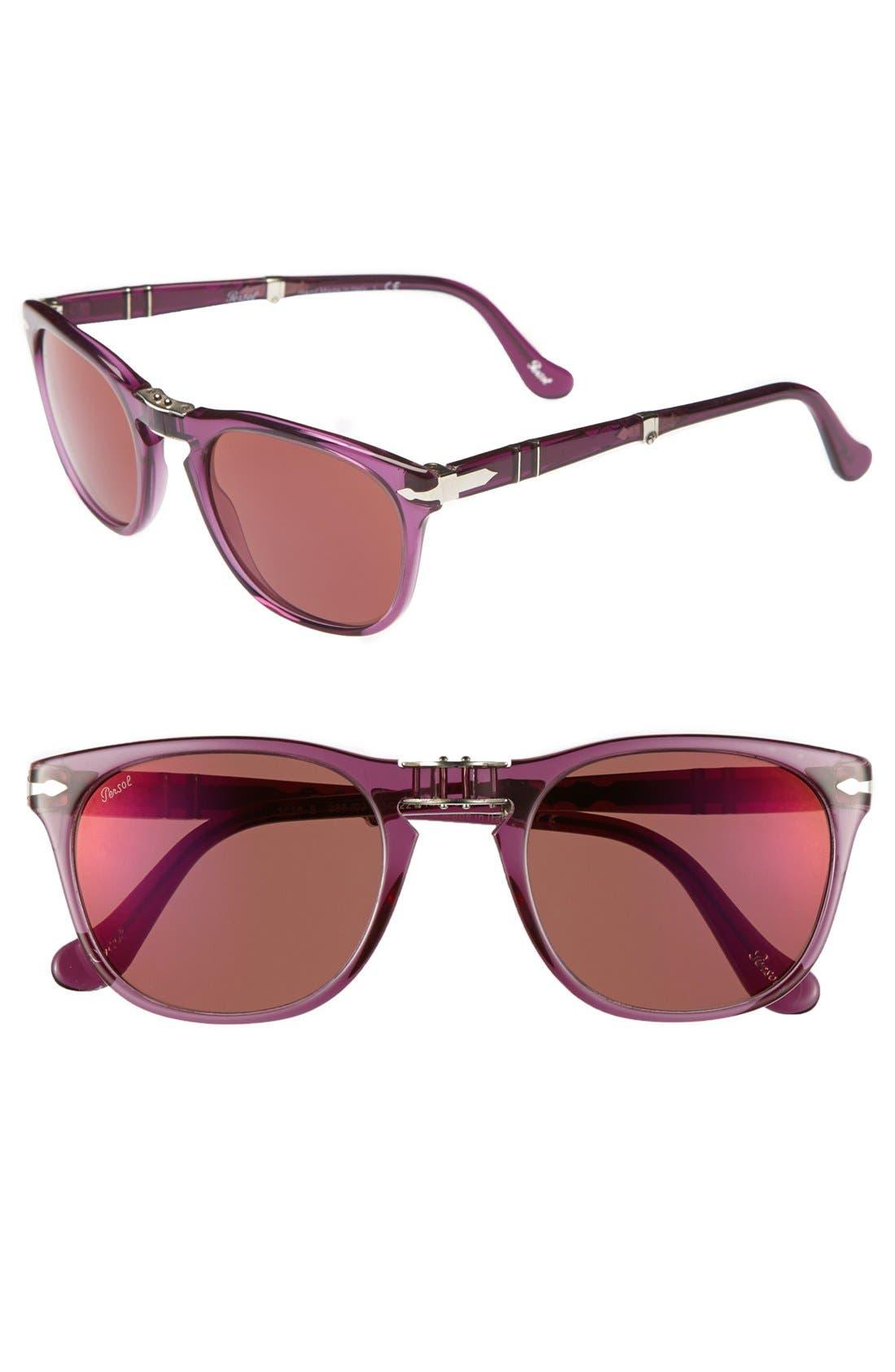 Main Image - Persol 52mm Folding Sunglasses