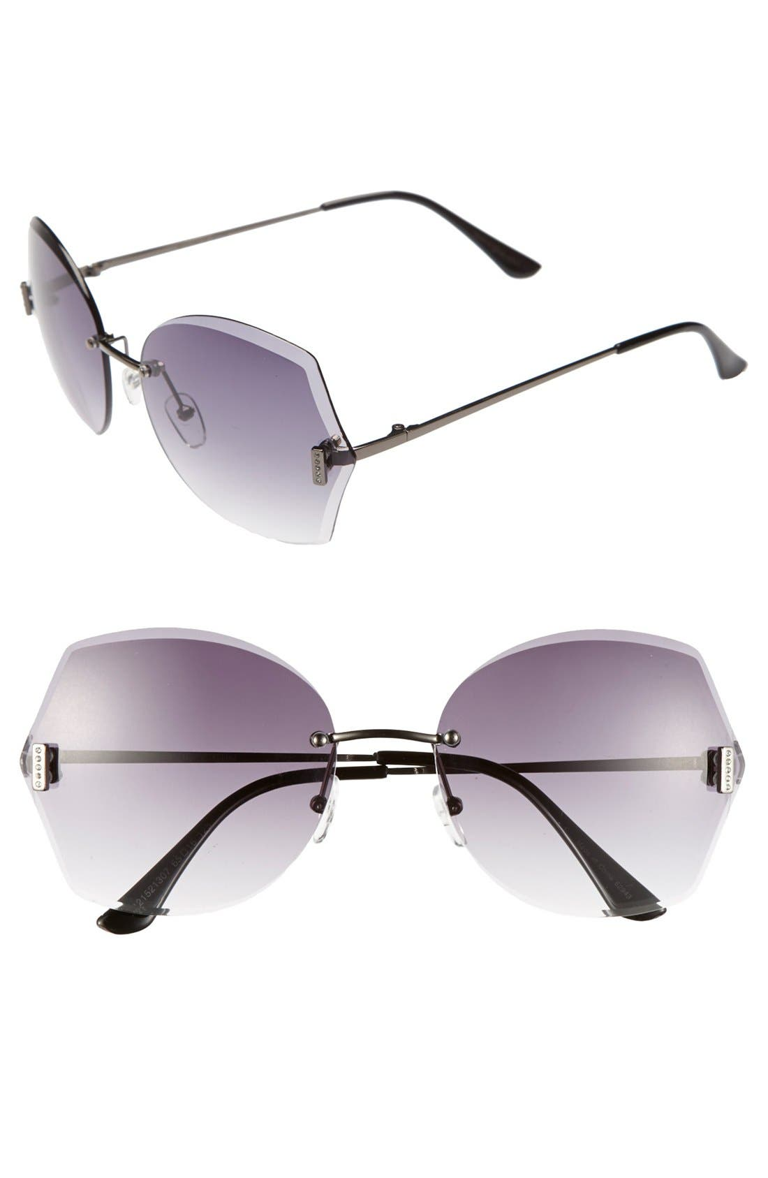 Alternate Image 1 Selected - Outlook Eyewear 'Bounce' 65mm Sunglasses