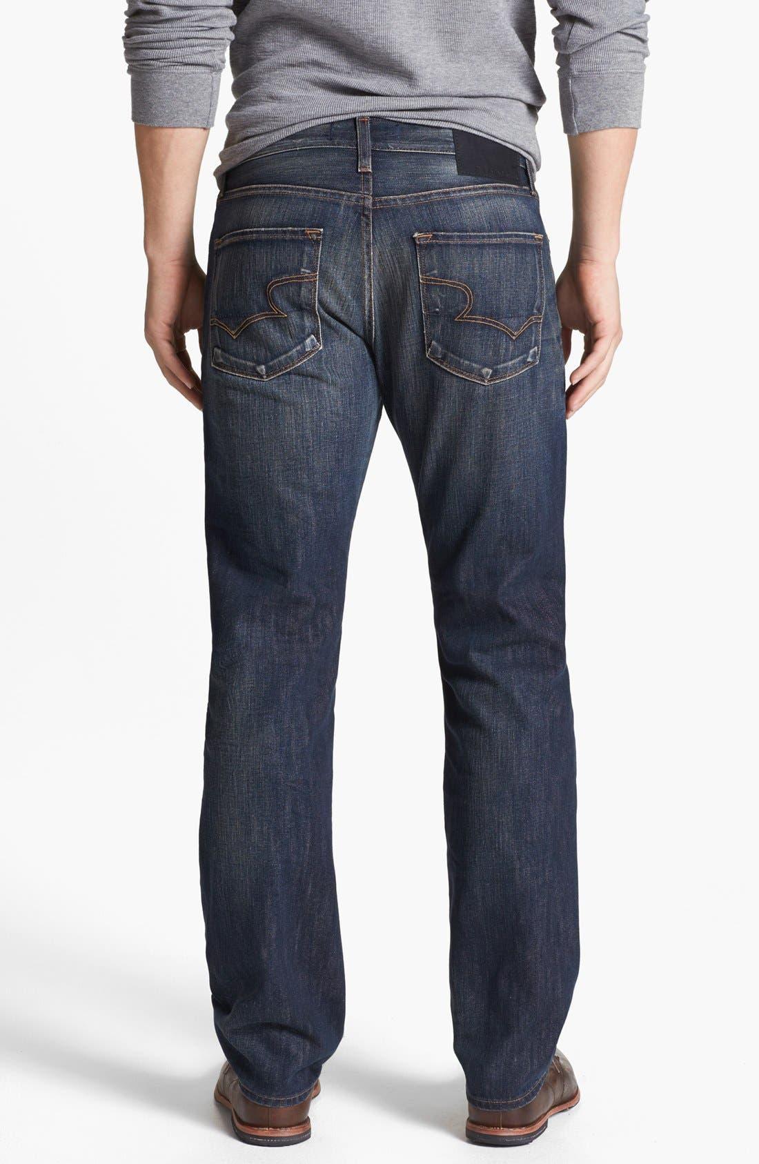 Alternate Image 2  - Big Star 'Division' Straight Leg Jeans (6 Year Piston)