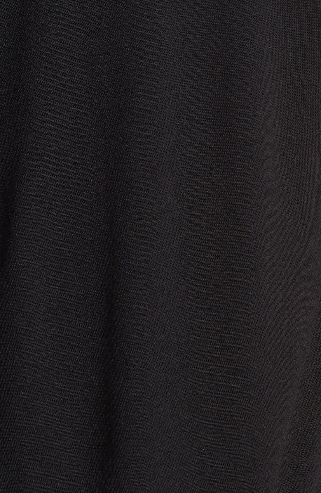 Alternate Image 3  - Kische Embellished Collar Mixed Media Tee (Plus Size)