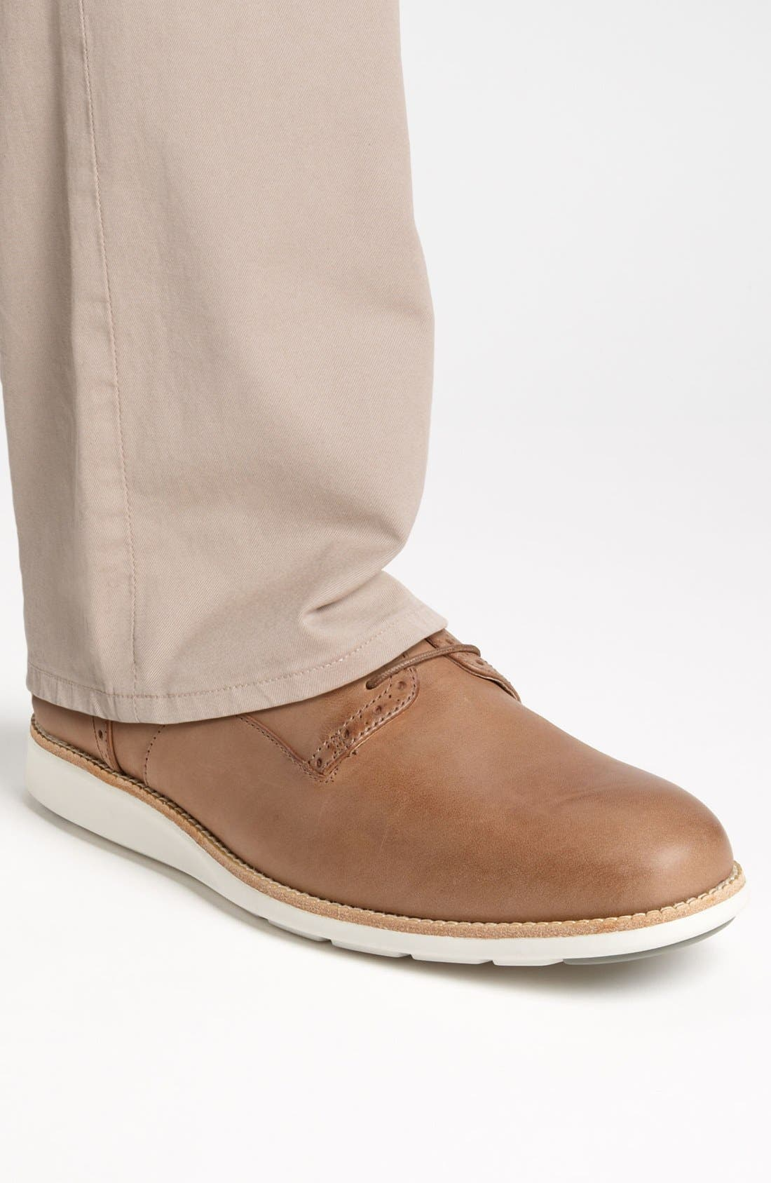 Alternate Image 5  - ECCO 'Clayton' Plain Toe Derby