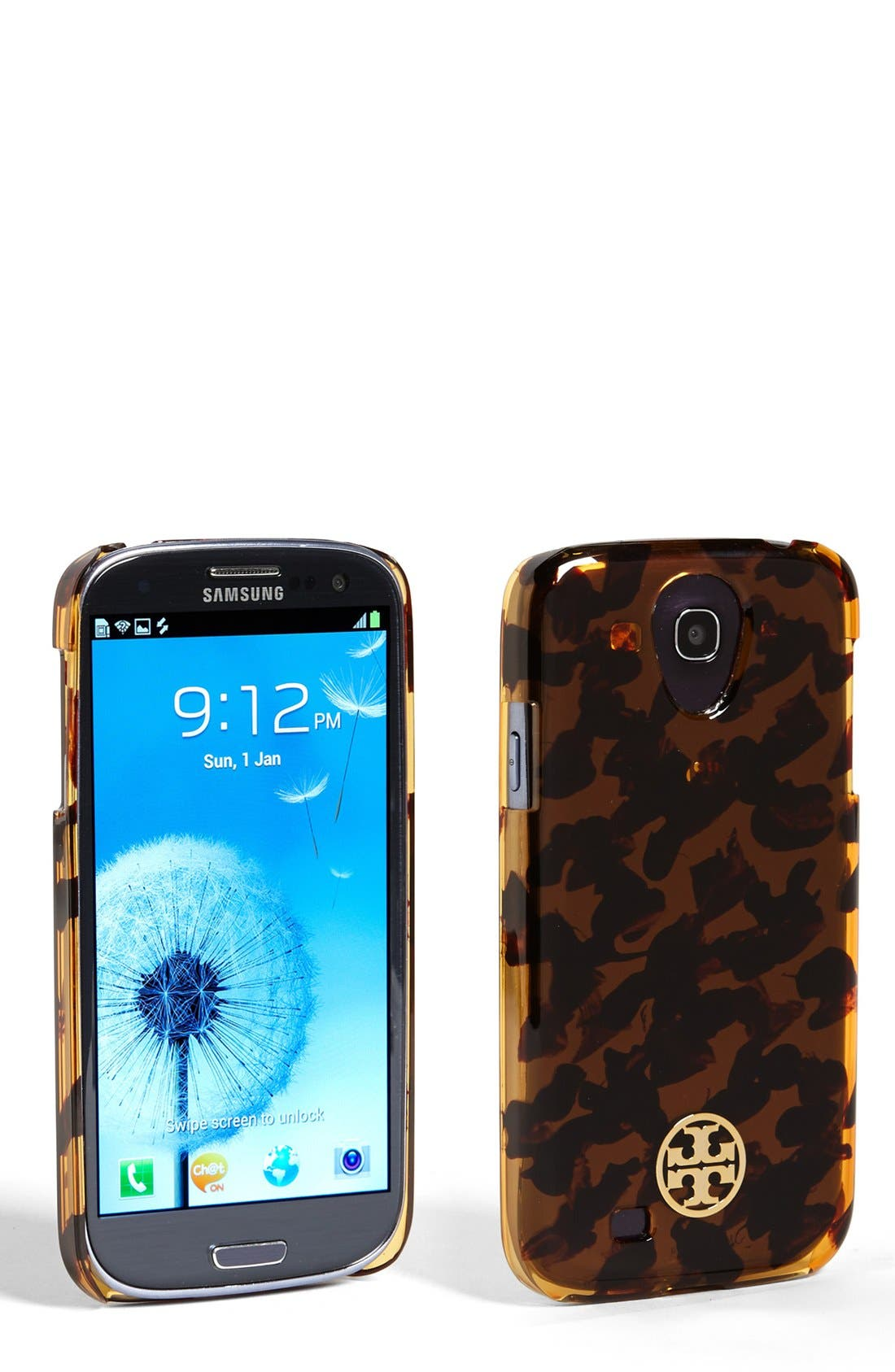 Alternate Image 1 Selected - Tory Burch 'Tortoise' Samsung Galaxy S® 4 Case
