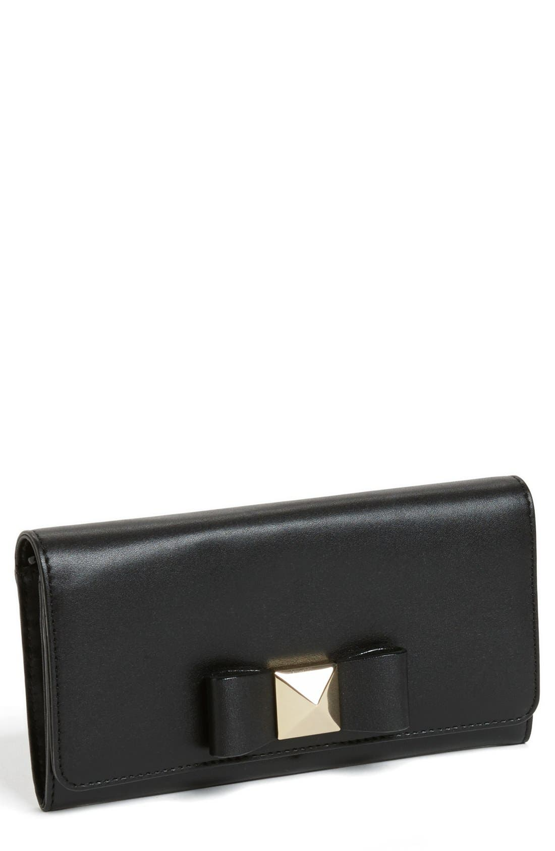 Main Image - kate spade new york 'bow terrace - cindy' continental wallet