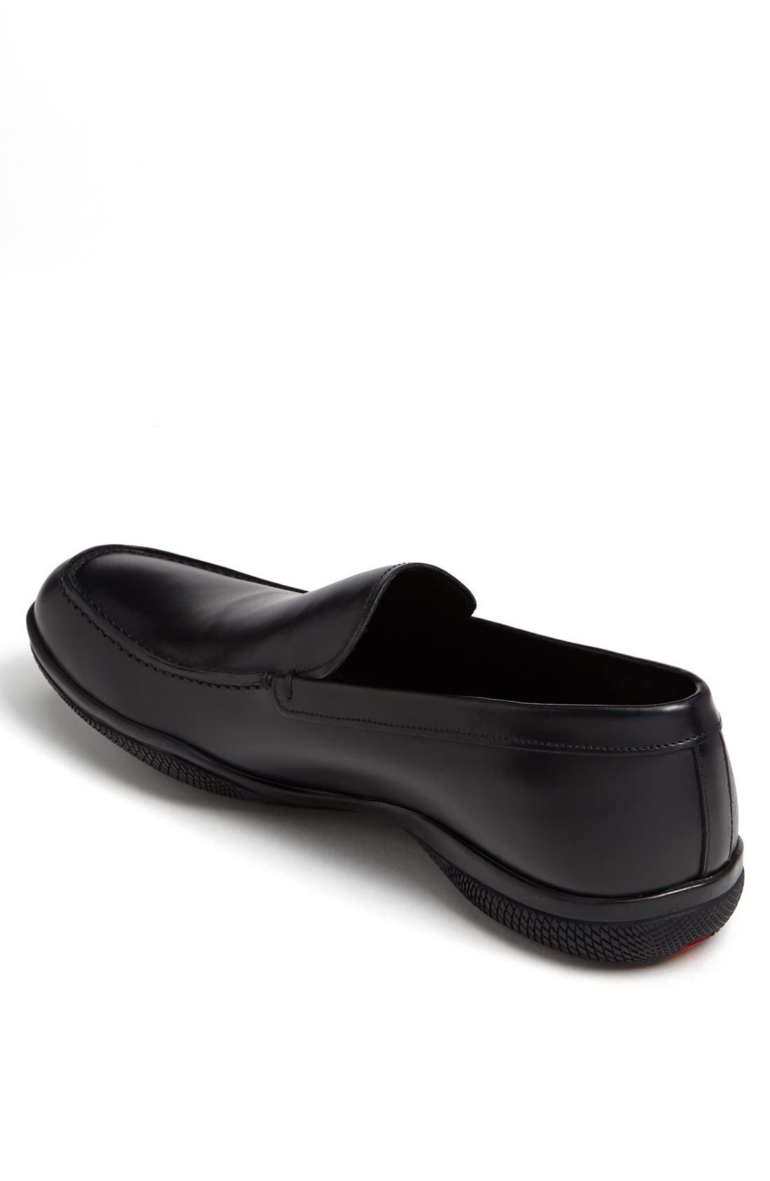 Alternate Image 2  - Prada Leather Slip-On (Men)