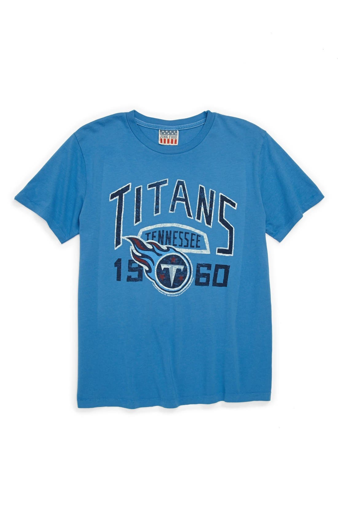 Alternate Image 1 Selected - Junk Food 'Tennessee Titans' T-Shirt (Little Boys & Big Boys)