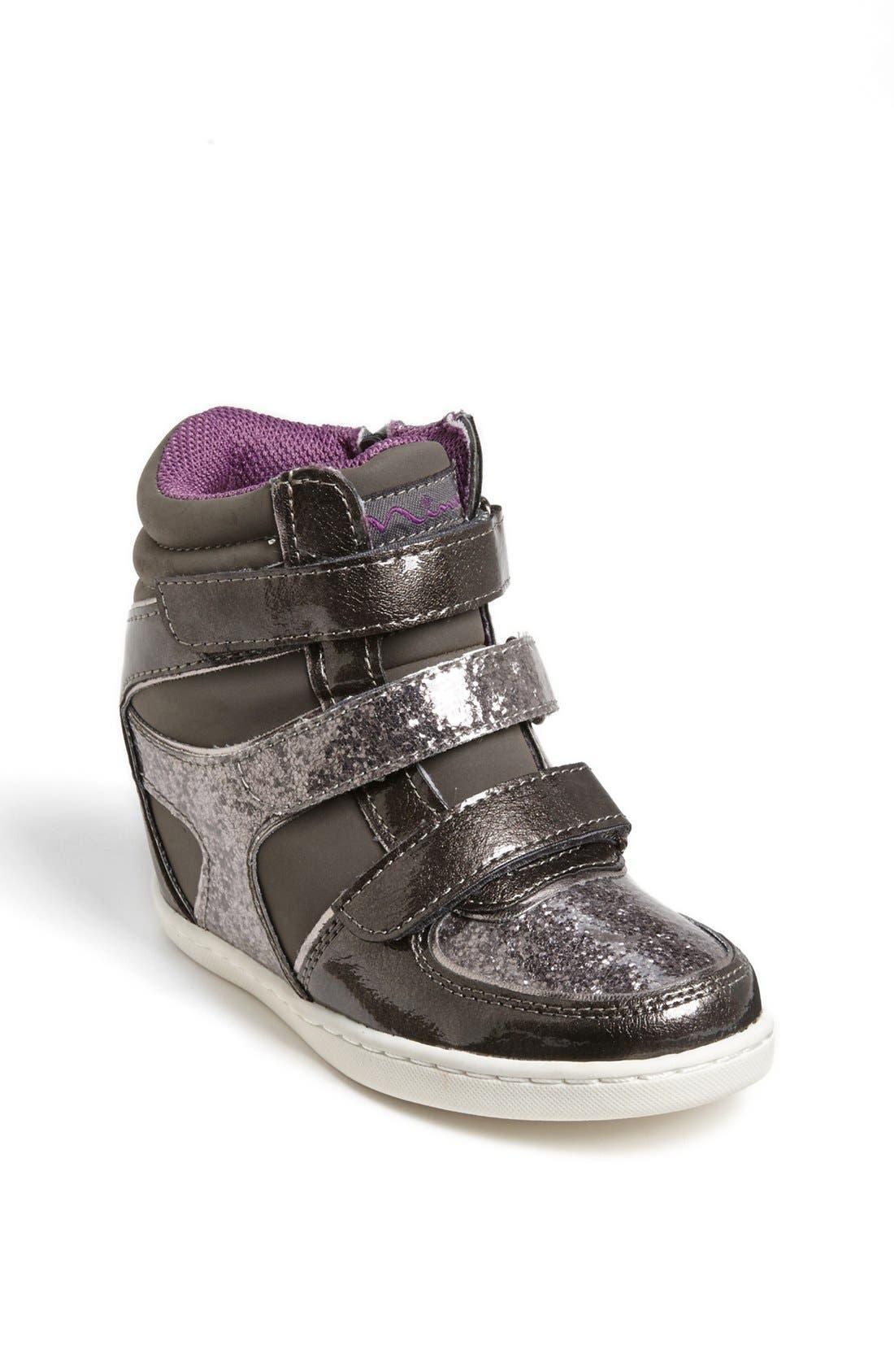 Alternate Image 1 Selected - Nina 'Tally' Sneaker (Little Kid & Big Kid)