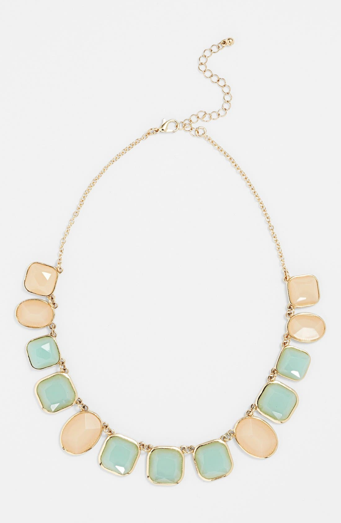 Alternate Image 1 Selected - Musiq Accessories Statement Necklace (Juniors)