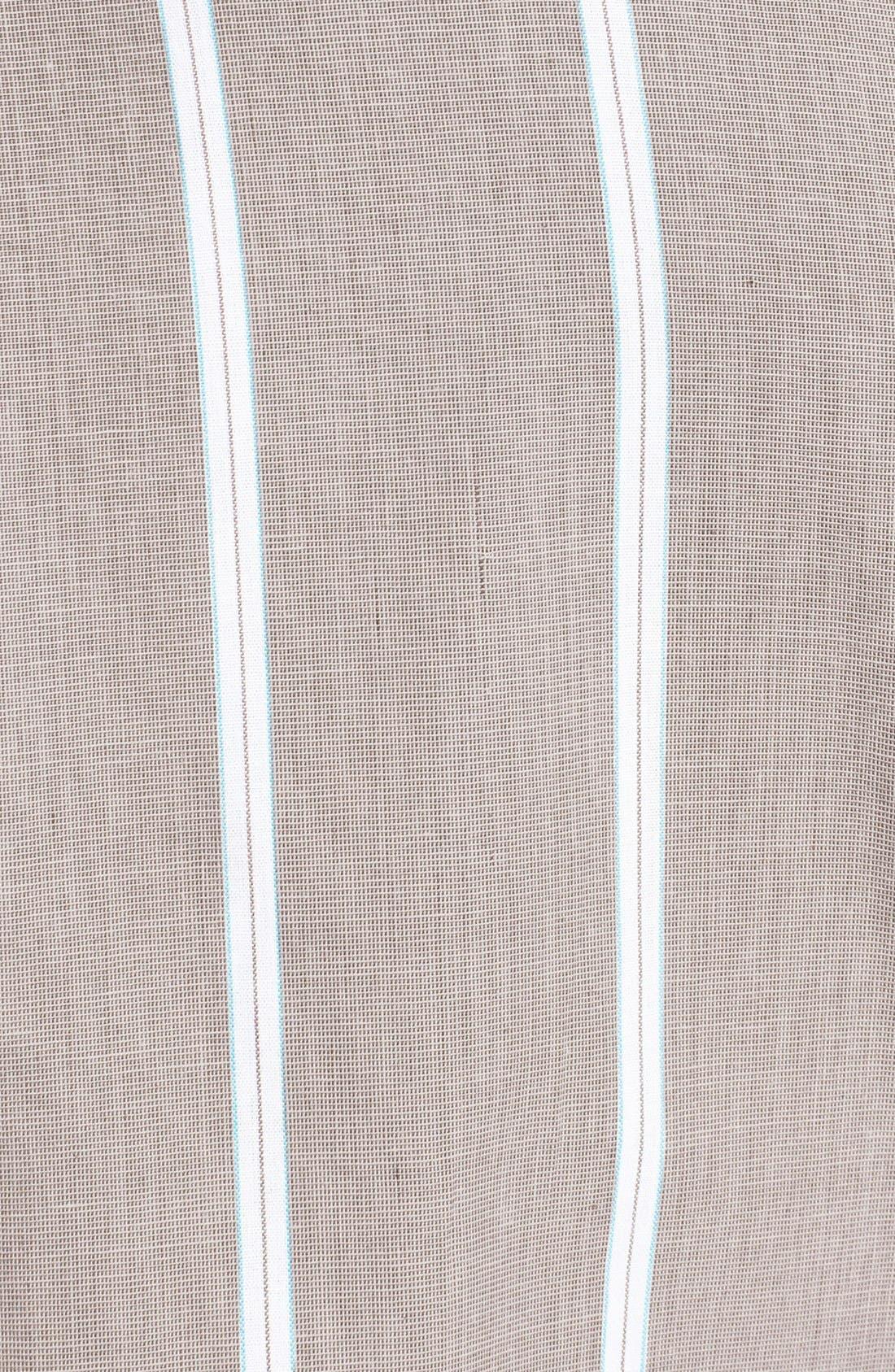 Alternate Image 3  - Brixton 'Baylor' Stripe Oxford Shirt