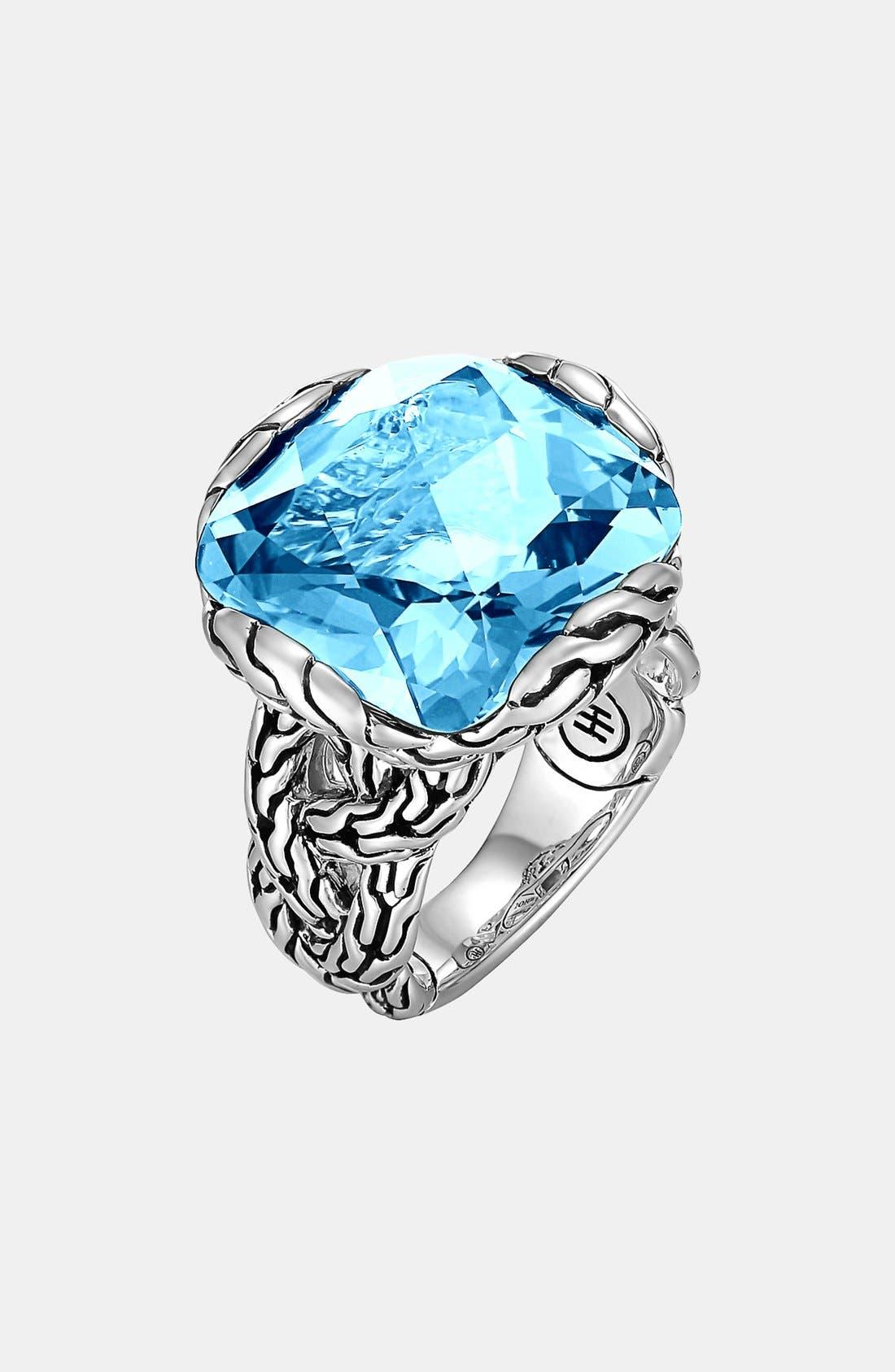 Alternate Image 1 Selected - John Hardy 'Classic Chain - Batu' Large Braided Ring
