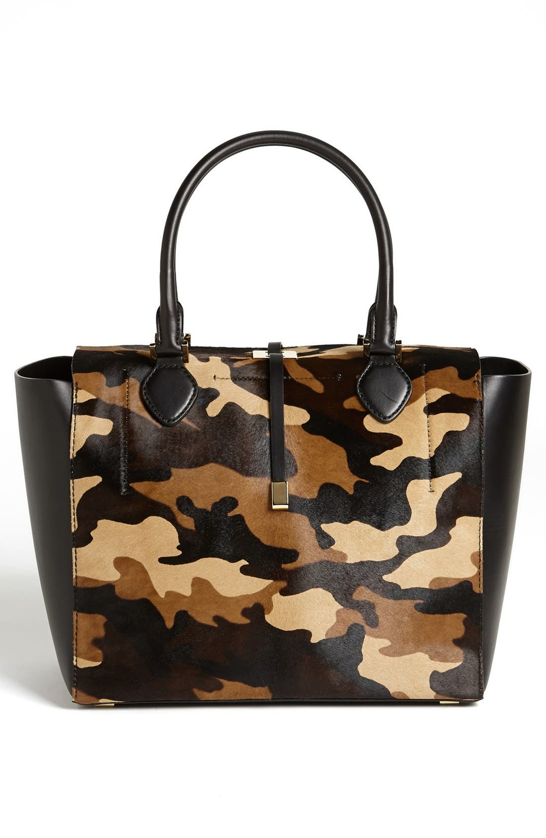 Alternate Image 4  - Michael Kors 'Miranda' Calf Hair & Leather Tote