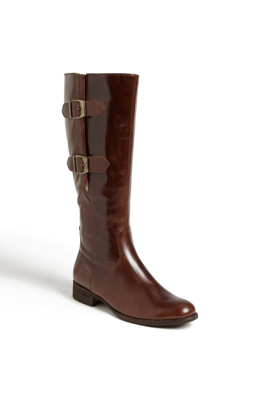 Alternate Image 1 Selected - Gabor Adjustable Buckle Riding Boot