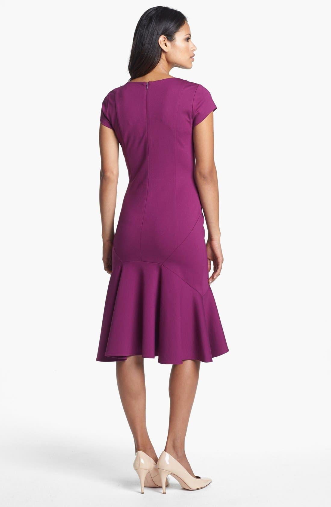Alternate Image 2  - Adrianna Papell Drop Waist Dress