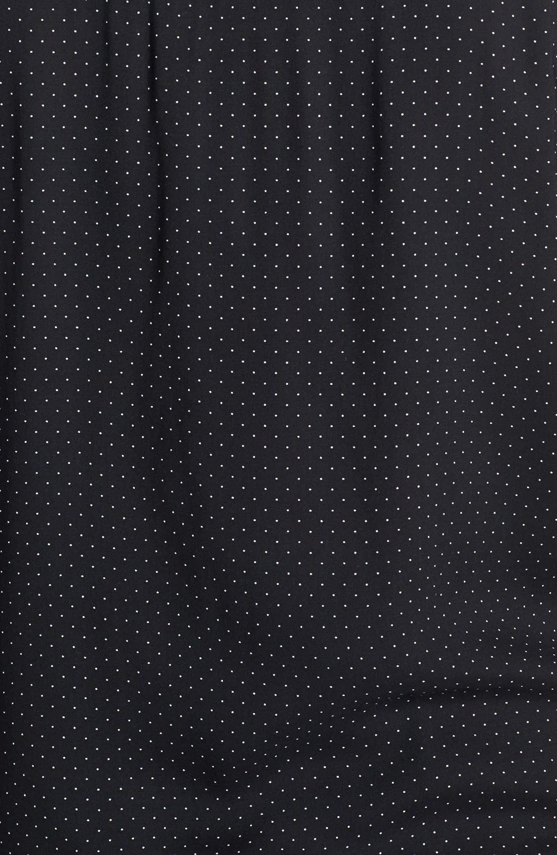 Alternate Image 3  - Foxcroft Pin Dot Shaped Shirt (Plus Size)