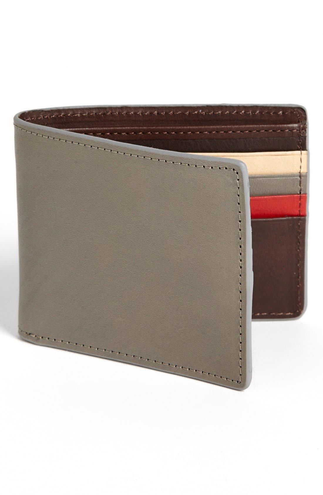 Alternate Image 1 Selected - J Fold 'Havana' Slim Fold Wallet