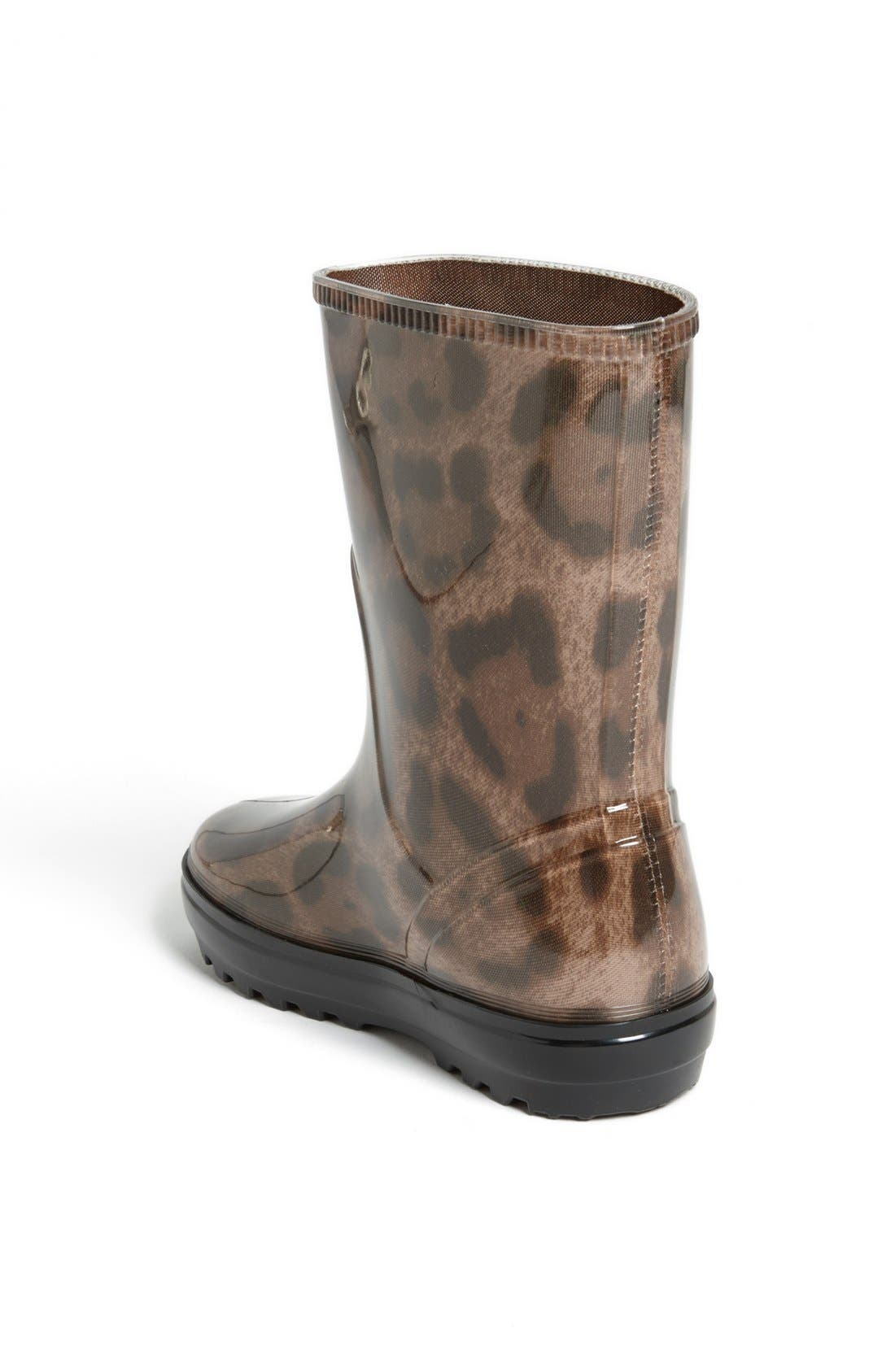 Alternate Image 2  - Dolce&Gabbana 'Leo' Rain Boot (Walker, Toddler, Little Kid & Big Kid)