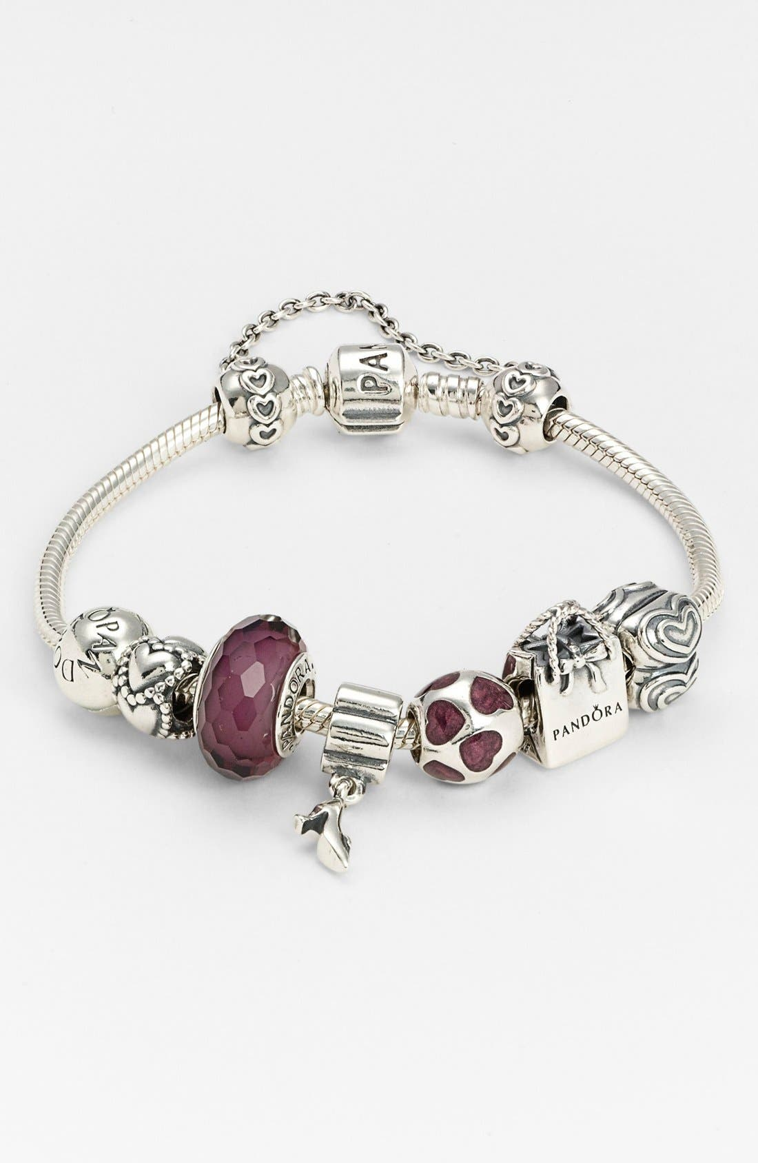 Alternate Image 3  - PANDORA 'You're in My Heart' Clip Charm