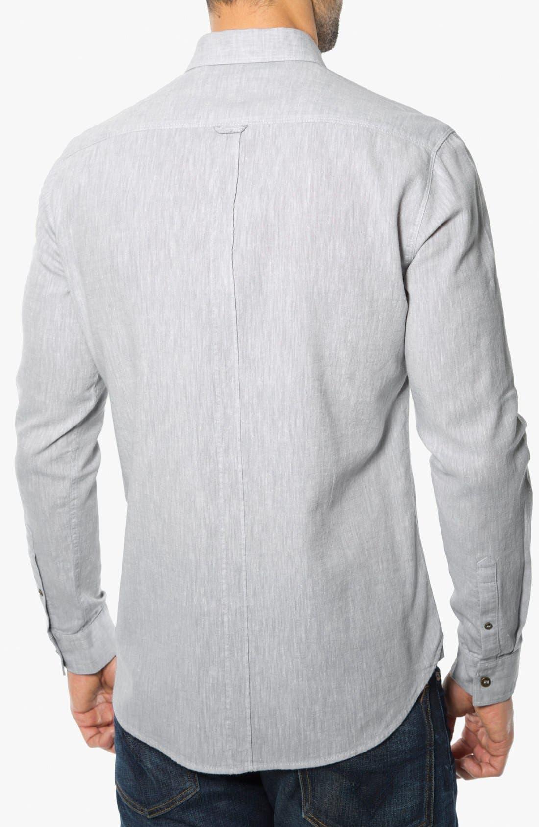 Alternate Image 2  - 7 Diamonds 'After Lights' Trim Fit Cotton Sport Shirt